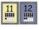 Primary Zebra Print Number Cards 1-20