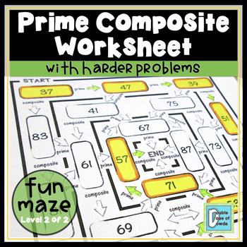 Prime Composite Hard Maze
