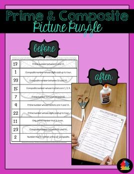 Prime & Composite Picture Puzzle