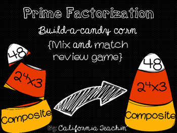 {Halloween} Prime Factorization Build-A-Candy-Corn Mix and