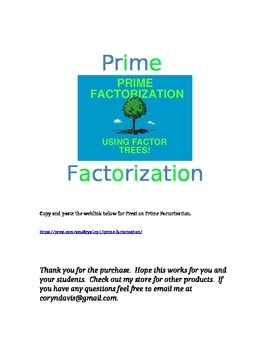Prime Factorization Prezi