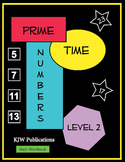 Prime Time Numbers - Level 2  - Digital Download - 2nd  Gr