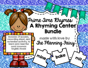 Prime Time Rimes: A Rhyming Center Game