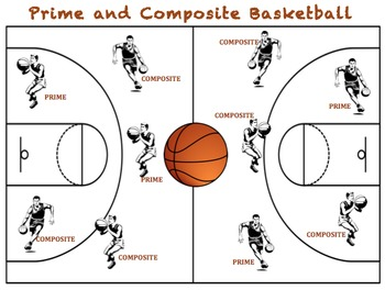 Prime and Composite Basketball - A Game to Identify Prime
