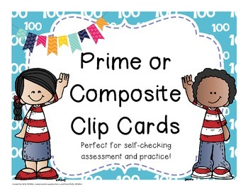 Prime and Composite Clip Cards