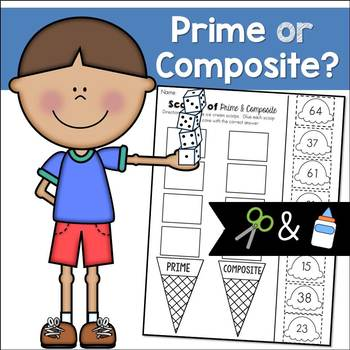 Prime and Composite Numbers: Cut and Paste