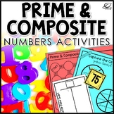 Prime and Composite Numbers Activities