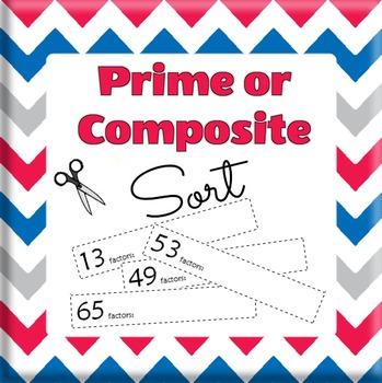 Prime vs. Composite Number Sort