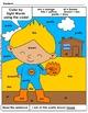 Primer: Color by Sight Word Sentences - 009