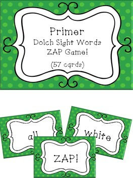 Primer Dolch Sight Word Game