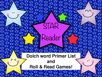 Primer Dolch Word Roll and Read