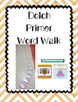 Primer Dolch Word Walk