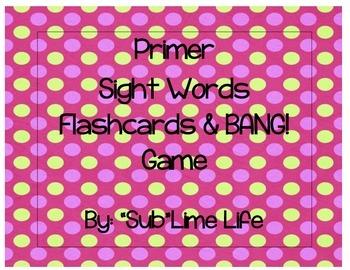 Primer Flashcards/Game