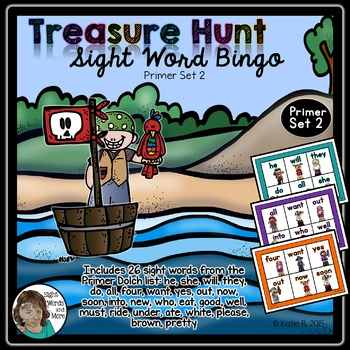 Sight Word Bingo Game Primer 2