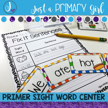 Primer Sight Word Centers