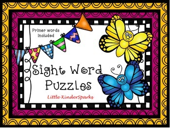 Primer Sight Words Puzzle