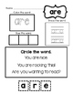 Primer sight Words Packet