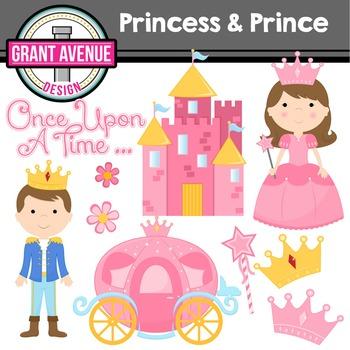 Prince & Princess Clipart