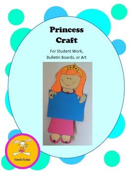 Princess Decorative Display Craft for Bulletin Boards, Stu