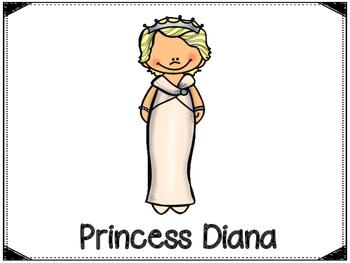 Princess Diana Graphic Organizers