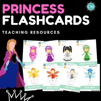 Princess Fantasy Flashcards