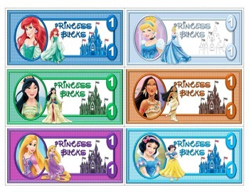 Princess Fun Money