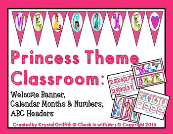 Princess Theme Classroom