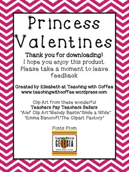 Princess Valentines