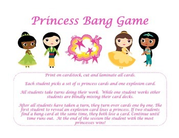 Princesses Bang Game