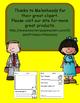 Principals/ Assistant Principals Day Funny response sheets