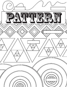 Principle of Design, Pattern, Review Worksheet: Fill in th