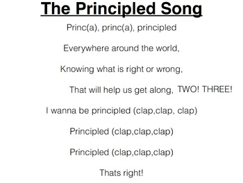 Principled Song