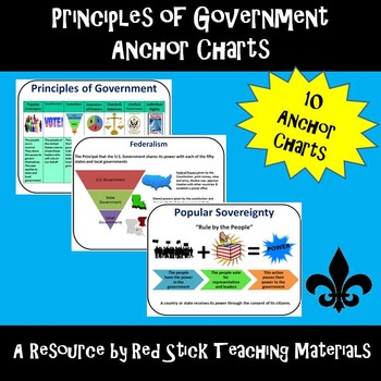 Principles of Government Anchor Charts
