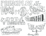 Principles of Art Illustration Handout