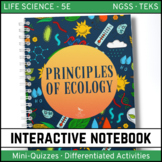 Principles of Ecology: Life Science Interactive Notebook