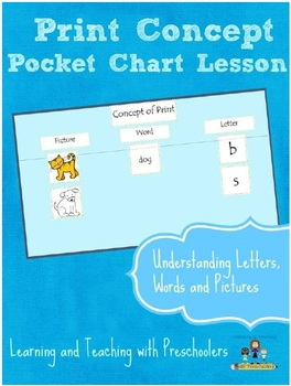 Print Concept Pocket Chart