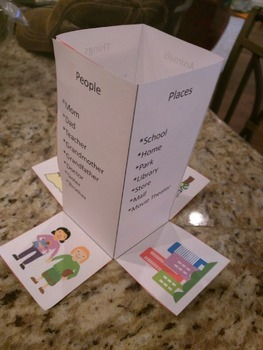 Print, Cut, and Fold: Nouns Tower