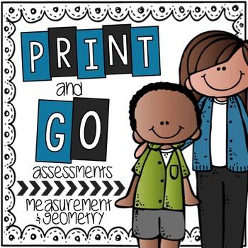 Print & Go Assessments {Perimeter & Area Edition}
