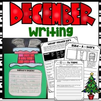 Print & Go December Writing Packet