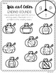 Print & Go October NO PREP Printables for Kindergarten