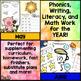 BUNDLE Full Year Kindergarten Print & Go (No Prep) Common