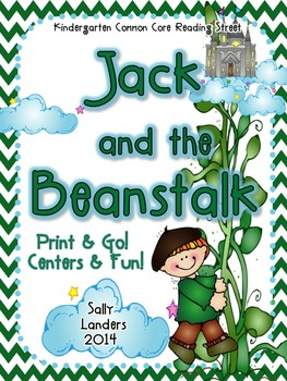Print & Go Pack! Jack and the Beanstalk  {Common Core Read