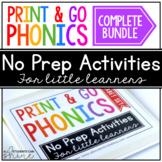 Print & Go Phonics ~ GROWING BUNDLE