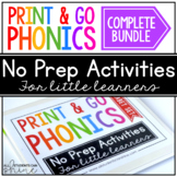 Print & Go Phonics ~ GROWING BUNDLE