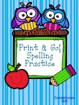 Spelling Practice Printables {K-1)