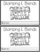 Print & Go Stamping Center: L-Blends {Mini Student Booklets}