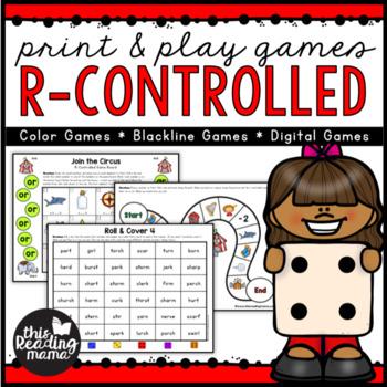 Print & Play Bossy R Games