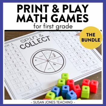 Print, Play, LEARN! Math Bundle!