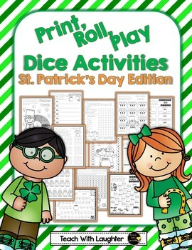 Print, Roll and Play Dice Activities (St. Patrick's Day Edition)