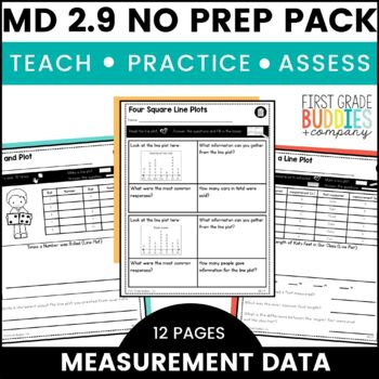 Print a Standard 2.MD.9 {Measurement Data and Line Plots} No Prep